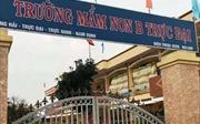 Nam Định: Phòng giáo dục thông tin vụ bé trai 4 tuổi bị cô giáo buộc dây vào người