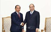Thủ tướng Nguyễn Xuân Phúc tiếp Bộ trưởng Tư pháp Lào