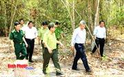 Nguy cơ cháy rừng cao tại Bình Phước