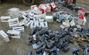 Phát hiện xe tải chở hàng nghìn sản phẩm điện tử 'chui'