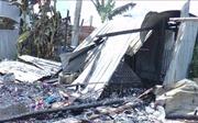 5 căn nhà bị thiêu rụi, hư hỏng nặng do bình ga phát nổ