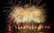 'Bản hòa ca ánh sáng' của đội Anh và Trung Quốc trên bầu trời đêm Sông Hàn