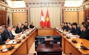 TP Hồ Chí Minh thúc đẩy hợp tác với Liên bang Thụy Sỹ