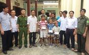 Nghệ An: Ba cháu trai nghi bị bắt cóc đã được bàn giao cho gia đình