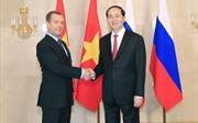 Thủ tướng LB Nga Dmitry Medvedev chia buồn về việc Chủ tịch nước Trần Đại Quang từ trần