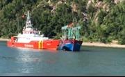 Cứu thành công tàu cá cùng 10 ngư dân gặp nạn