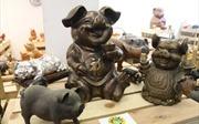 Chiêm ngưỡng 2.000 chú 'lợn sung túc' nhân dịp năm Kỷ Hợi
