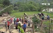 Lốc xoáy, lũ quét gây thiệt hại tại Lào Cai