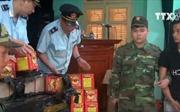Lạng Sơn bắt vụ vận chuyển trái phép hơn 1,5 tạ pháo