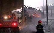 Cháy lớn tại Công ty giấy Paper Việt Nam tại Bắc Ninh