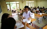 Chiều 24/6, trên 887.000 thí sinh làm thủ tục dự thi THPT quốc gia