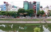 Hà Nội mở cửa xả nước Hồ Tây giảm bớt ô nhiễm sông Tô Lịch