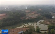 Chôn trộm chất thải ở Sóc Sơn, Hà Nội