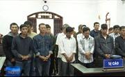 25 bị cáo trong đường dây gỗ lậu do Phượng 'râu' cầm đầu lĩnh án