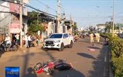 Xe máy tông liên tiếp khiến 2 người tử vong