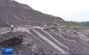 Sạt trượt đất đá tại bãi đổ thải mỏ than Phấn Mễ