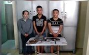 Bắt nhóm đối tượng dùng súng cướp tài sản tại Bách hóa Xanh
