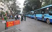 Dịch COVID-19: Hàng trăm người hoàn thành cách ly tại khu cách ly Pháp Vân-Tứ Hiệp