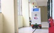 Robot phục vụ trong khu cách ly