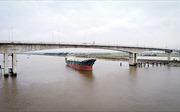 Người dân hai bên bờ Ninh Cơ háo hức chờ ngày thông xe cầu Thịnh Long