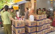 Quản lý thị trường Đà Nẵng tạm giữ lô hàng nghi nhập lậu