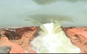 Phú Thọ: Vỡ đập thủy lợi có sức chứa 600.000 m3