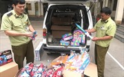 200 kiếm nhựa đồ chơi trẻ em bị tịch thu sát đợt Trung thu
