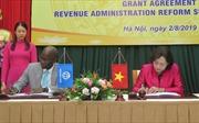 Dự án hiện đại hóa hệ thống thuế được tài trợ 4,2 triệu USD