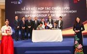 Masan ký kết hợp tác chiến lược với SK Group