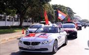 AFF Suzuki Cup 2018: CĐV Việt Nam hâm nóng bầu không khí SVĐ quốc gia Lào
