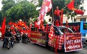 AFF Suzuki Cup 2018: Không khí lễ hội bóng đá đang lan tỏa khắp Thủ đô