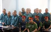 Y án sơ thẩm đối với 13 đối tượng kích động gây rối trật tự tại Bình Thuận