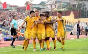 Đương kim vô địch Hà Nội thảm bại 1-4 tại xứ Thanh