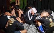 Vụ đua xe tại Vĩnh Phúc: Khởi tố hai bị can về hành vi 'Chống người thi hành công vụ'
