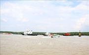 Vụ chìm tàu trên sông Lòng Tàu: Dự kiến 25/11 sẽ thông một chiều luồng Sài Gòn - Vũng Tàu
