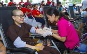 Ngày hội hiến máu Hành Bồ Tát đạo và đăng ký hiến tặng mô, tạng