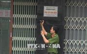 Sau loạt vụ cướp, TP Hồ Chí Minh siết chặt an ninh các trụ sở ngân hàng