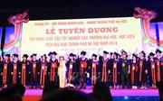 Hà Nội tuyên dương 88 thủ khoa tốt nghiệp đại học