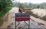 Mưa lớn gây ngập cục bộ tại huyện vùng sâu M'Đrắk, Đắk Lắk
