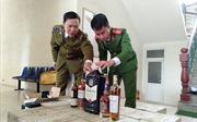 Bắt vụ vận chuyển rượu ngoại lớn nhất từ trước đến nay tại Thanh Hóa