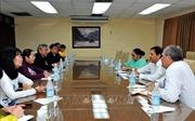 TP Hồ Chí Minh phát triển quan hệ hợp tác với Cuba
