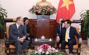 Phó Thủ tướng, Bộ trưởng Ngoại giao Phạm Bình Minh tiếp Đại sứ Cộng hòa Liên bang Đức