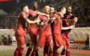 V.League 2019: TP Hồ Chí Minh giữ vững ngôi đầu bảng sau trận hòa trước Hà Nội FC