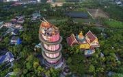 Thăm ngôi đền rồng cuốn quanh ở Thái Lan
