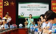 34 đội tham gia Giải bóng đá Môi trường Đô thị toàn quốc lần thứ I - 2018