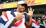 Lewis Hamilton lần thứ 5 leo lên đỉnh thế giới