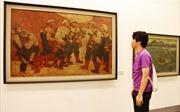 Bức tranh bảo vật quốc gia tái hiện giây phút thiêng liêng ở Điện Biên Phủ