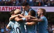 Hạ Tottenham, Man City trở lại ngôi đầu bảng