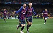 Messi lập cú đúp, Barca loại MU khỏi Champions League