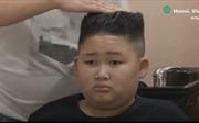 Thợ tóc Việt miễn phí cắt tóc giống ông Kim Jong-un, Donald Trump lên báo quốc tế